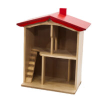 DROUIN 2-storey-dolls-house