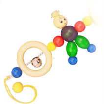 GEPETTO PRAM RATTLE BILLY DOLL 77