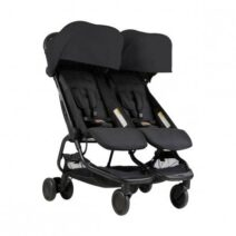 Mountain Buggy Prams:Nano Duo – Black