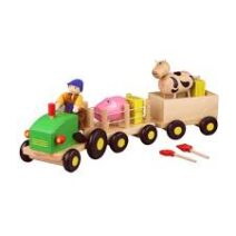 Discoveroo  Wooden Farm Set – Educational