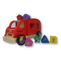 Discoveroo – Wiggles Big Red Van – Pull Along Shape Sorter