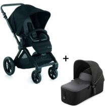 Jane Muum Pram and Micro Carrycot Package – Black