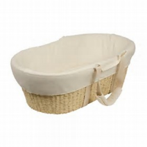 bebecare moses basket natural