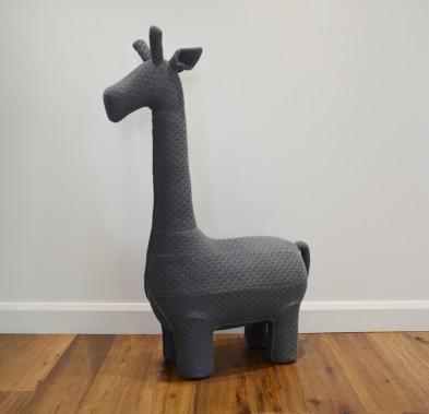 giraffe chair large gunmetal grey