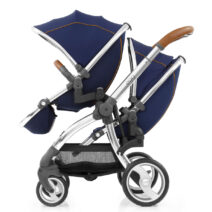 EGG TANDEM SEAT – REGAL NAVY AND MIRROR FRAME